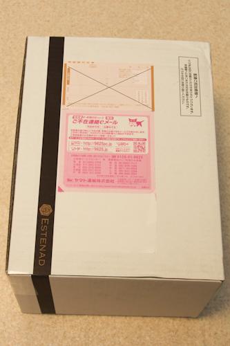 エステナードソニックの980円美顔器が来ました!
