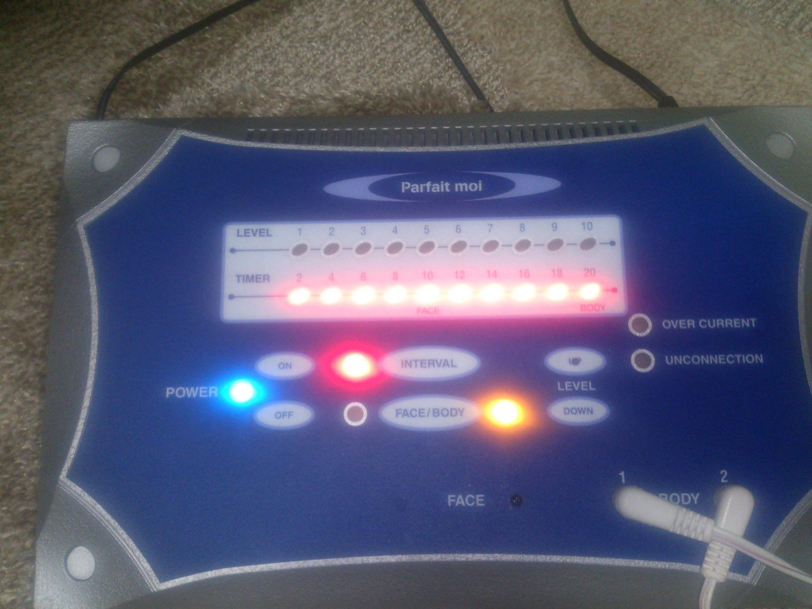 EMS (Electric Muscle Stimulation)でほうれい線をやっつけろ